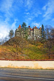 Garden of dracula bran castle Stock Photo
