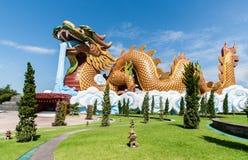 Garden dragon Stock Photo