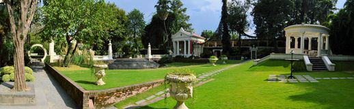 Garden of Dreams. Kathmandu. Nepal Royalty Free Stock Photo