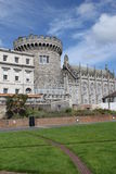 Garden in Dublin Castle Royalty Free Stock Photography