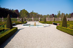 Garden from Dutch palace . Royalty Free Stock Photo
