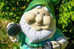 Garden dwarf royalty free stock photo