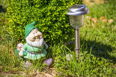 Garden dwarf stock photo