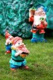 Garden dwarfs stock photography
