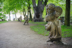 Garden of dwarves Stock Photography