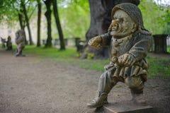 Garden of dwarves Stock Image