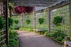 Garden enclosure Royalty Free Stock Photography