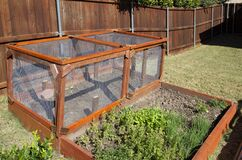 Free Garden Enclosure To Protect From Small Animals Royalty Free Stock Photography - 202098467