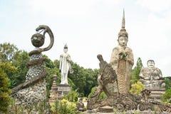Garden of Enlightenment. Wat Khaek in Nong Khai, Thailand Royalty Free Stock Photography