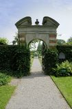 Garden Entrance Royalty Free Stock Images
