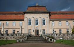 Garden Entrance of Schloss Fasanerie Stock Photos