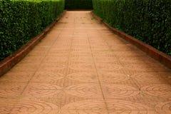 Garden entry way Stock Image