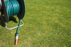 Garden equipment - hose pipe Stock Image
