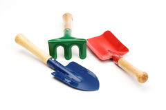 Garden equipment for kids Royalty Free Stock Image