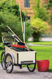 Garden equipment Royalty Free Stock Images