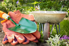 Garden equipment Stock Images