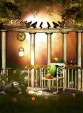 Garden Escape Pergola Royalty Free Stock Photography