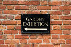 Garden Exhibition Stock Photography
