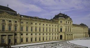 Garden Facade, Residence Wuerzburg Royalty Free Stock Images