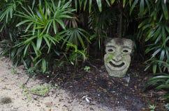 Garden face Stock Photography