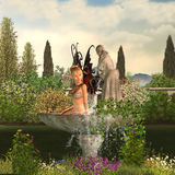 Garden Fairy - Day Stock Image