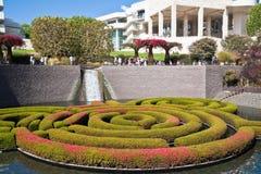 Garden at a Famous LA Park. Ornamental garden in Los Angeles, California Royalty Free Stock Photography