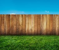 Garden fence Stock Photography