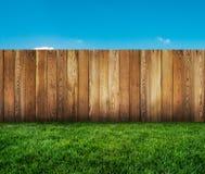 Garden fence Stock Photography