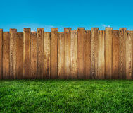Garden fence stock images