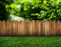 Garden fence Stock Image