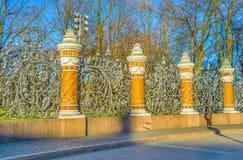 The garden fence Royalty Free Stock Photos
