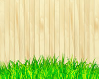 Garden fence vector background Royalty Free Stock Images