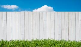 Garden fence royalty free stock photos