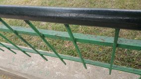 Garden fencing design Stock Photo