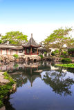 Garden of Fisherman in Suzhou, China Royalty Free Stock Images