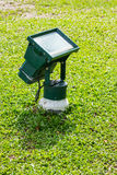 Garden flood light Stock Images