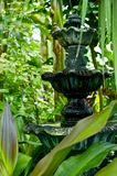 Garden Fountain Royalty Free Stock Photography