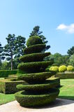 Garden in France on JULY 2014 Stock Images