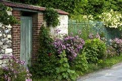 A garden in France Stock Photos
