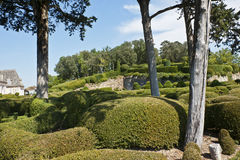 Marqueyssac gardens Stock Photography