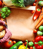 Garden fresh vegetables Royalty Free Stock Image