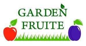 Garden fruit symbol Royalty Free Stock Photos