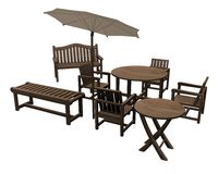 Garden furniture Royalty Free Stock Photography
