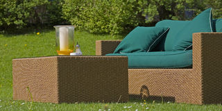 garden furniture Stock Photography
