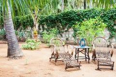Garden Furniture royalty free stock image