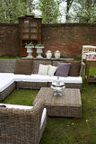 Garden furniture Stock Photo
