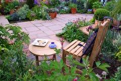 Garden furniture royalty free stock photo