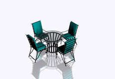 Garden Furniture Stock Image