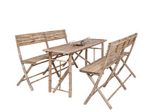 Garden furniture isolated Royalty Free Stock Image