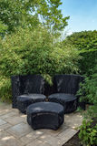 Garden furniture. Stock Photo
